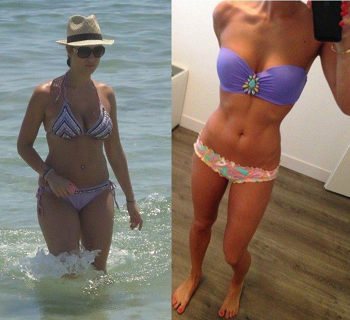 Fitness transformatie Caroline