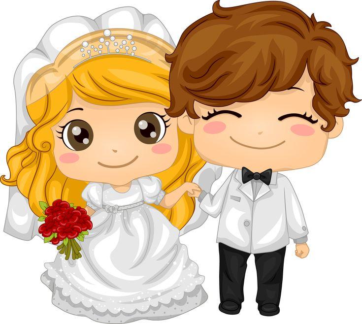 мультяшные картинки на свадебную тематику