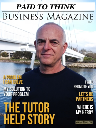 """Thinking of starting a home business? Find out how you can leverage """"Paid To Think Business Magazine"""" to help you grow your own business. Paid To Think Business Magazine is a monthly, digital only magazine, exploring business trends. It covers opportunities to promote products or services in the new business environment and features business stories, articles and tutorials.     Go here:  http://auto-pilot-biz.com/PTT"""