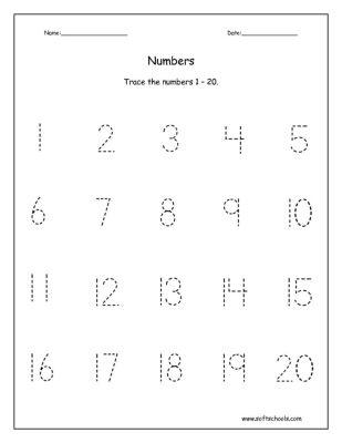 7 best numbers images on Pinterest | Numbers, Kindergarten ...
