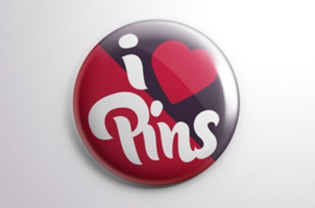 Our psd button badge mock-up template is a great way to easily put any design on a cool looking pin button....