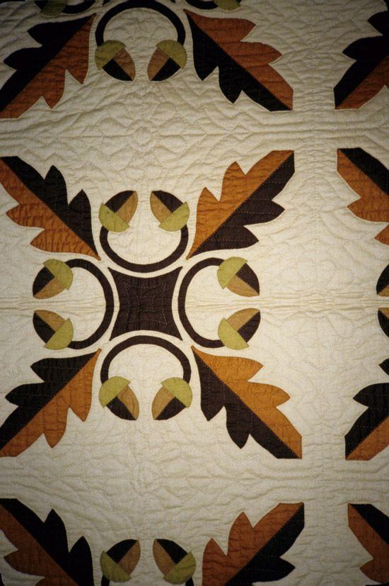 Oak Leaf Quilt Pc Quilts 3 Cutwork Amp Hawaiian