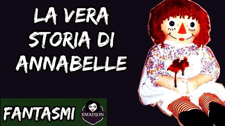 Bambola Annabelle: la storia vera (The Conjuring - Ed e Lorraine Warren)