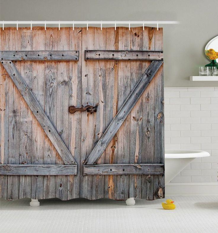 Best 25 Rustic Shower Curtains Ideas On Pinterest