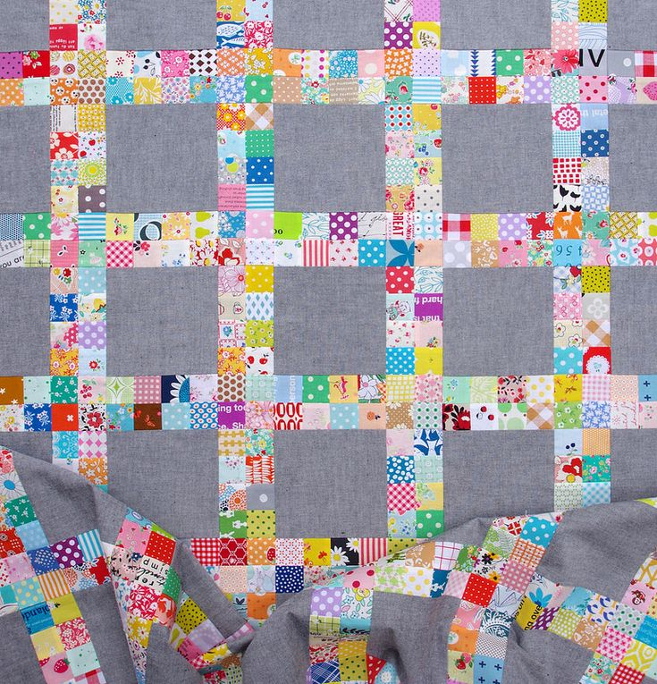 Work in Progress. Scrap busting and patchwork piecing is still my preferred way to pass the time with my sewing machine, and if I can use up some of the many 2 inch squares that I have been cutting