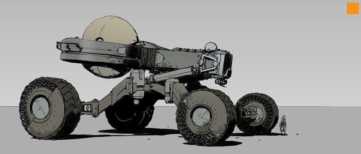 ArtStation - Vehicles, Darren Bartley