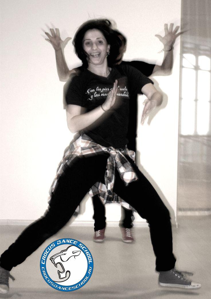У нас сейчас весело! А у ВАС?  Занятия с Анулей HIP-HOP в Crocus Dance School.  #crocusdanceschool #lioncrocus
