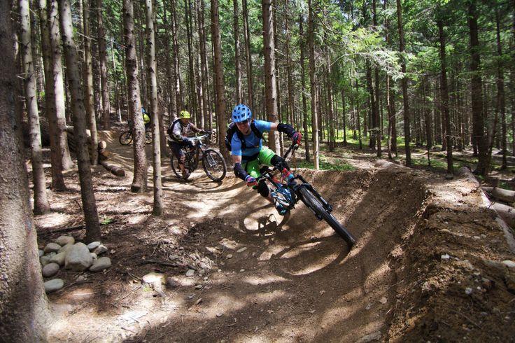 (c) Herwig Kamnig Mountainbiken in der areaone, Mountainbikeskillcenter, Kumitzberg #Fahrspaß #Trail #Mountainbike #Outdoor