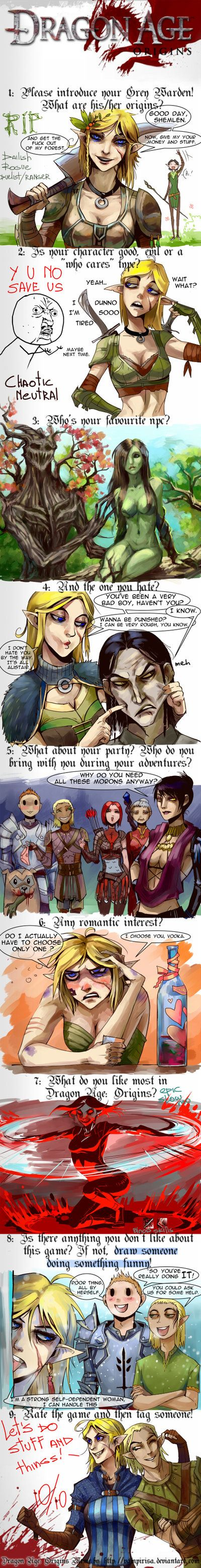 Dragon Age Origins Meme by NanoeTetsu.deviantart.com on @deviantART