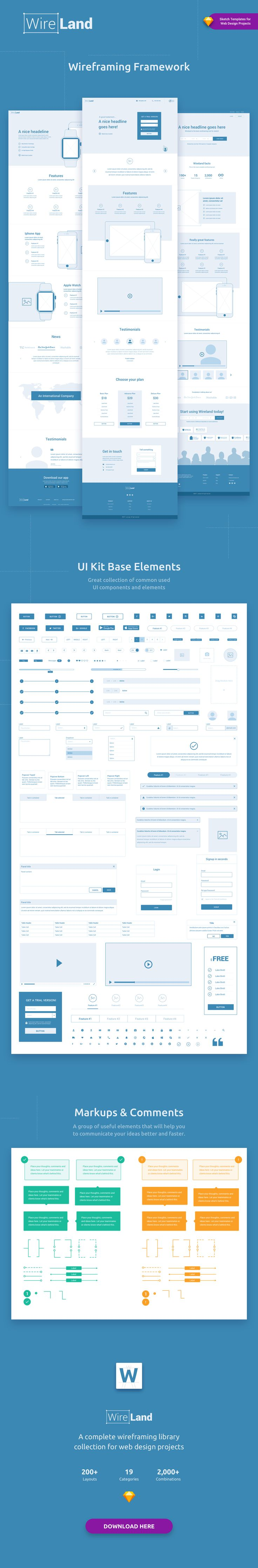 62 best Wireframe Website images on Pinterest | Web design projects ...