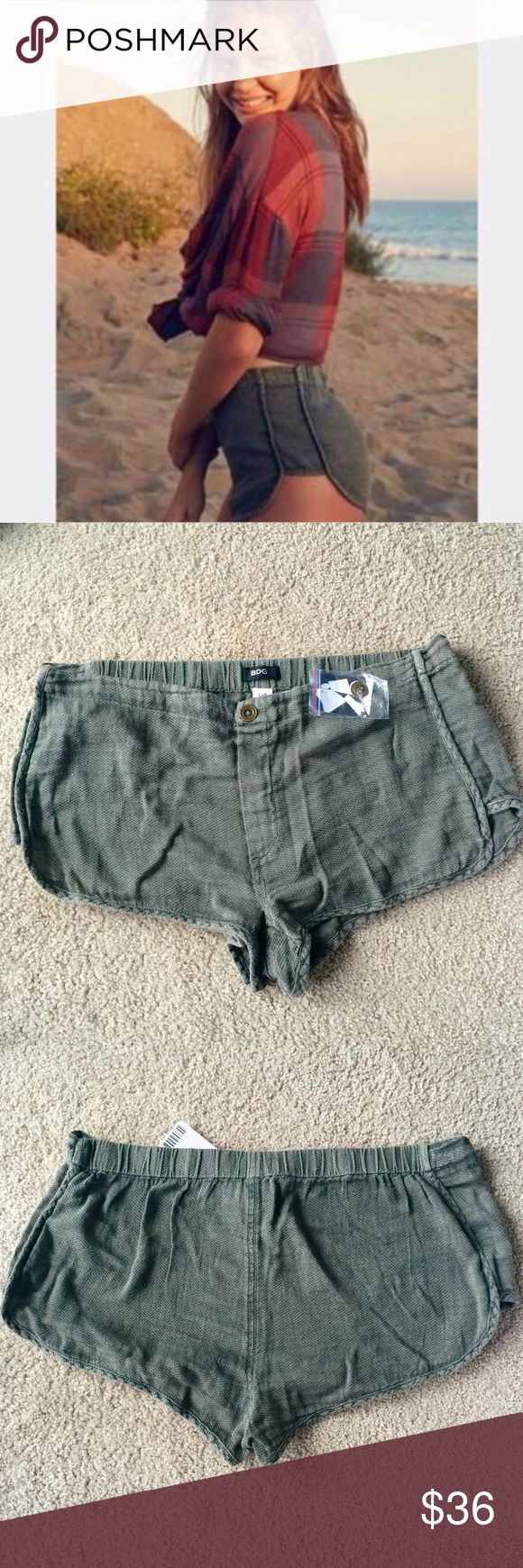❗️1 LEFT Urban Outfitters Olive Shorts NWT $39 ❗️1 LEFT Urban Outfitters Olive Shorts. NWT. Retails $39. Size large. Feel free to make an offer! New Year Cleanout Sale--I consider all reasonable offers on individual items & bundles. Current bundle deal ends today!;-) Urban Outfitters Shorts