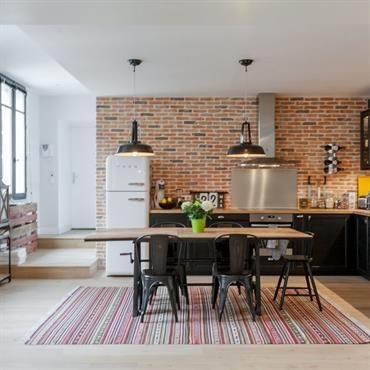 les 25 meilleures id es de la cat gorie brique rouge sur pinterest mur briques rouges murs de. Black Bedroom Furniture Sets. Home Design Ideas