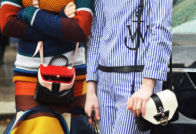 Opposites attract.: Colour, Fall Colors, Fashion Fall Winter 2012, Street Style, Fashion Week, Bed Stripes, Fall 2012, Style Com, Tommy Ton