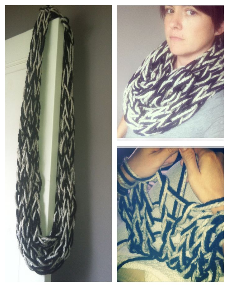 Arm Knitting Infinity Scarf : Best images about arm knitting on pinterest wool