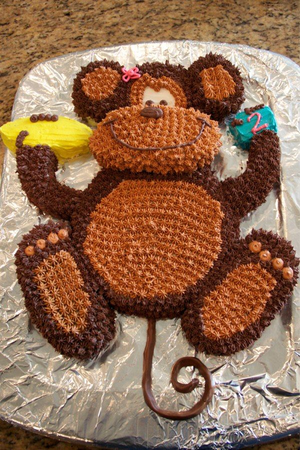 monkey cake tutorial