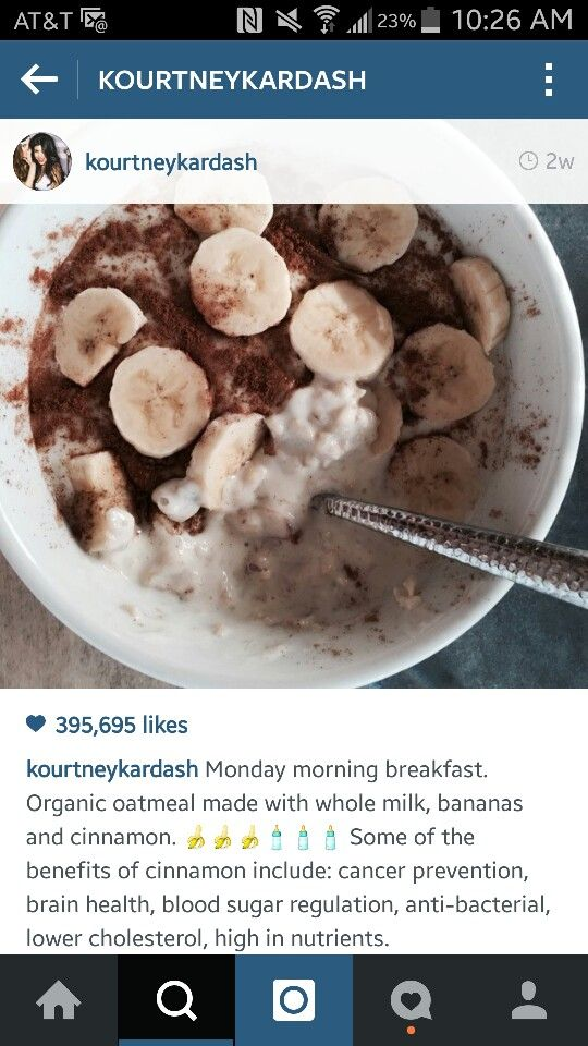 Kourtney Kardashian Breakfast