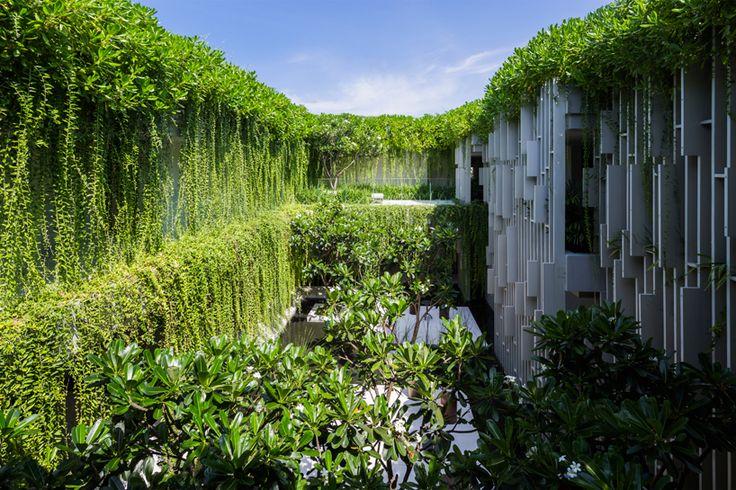 MIA design studio's naman spa exudes tropical tranquility in vietnam