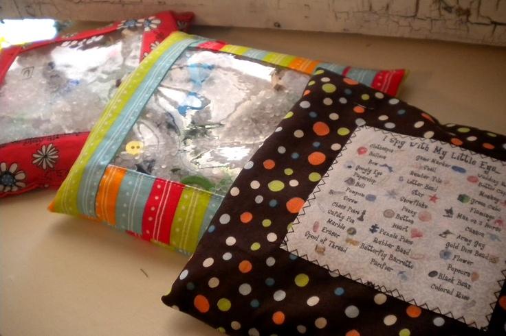 I Spy Bag Tutorial: Sewing Er, Sewing Projects, Bags Tutorials, Caker, Ispy Bags, Gift Ideas, Copycat Maker, Bag Tutorials, I Spy