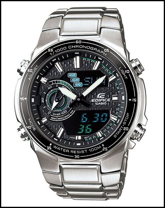 CASIO EDIFICE EFA131D-1A2V MEN'S SILVER QUARTZ WATCH