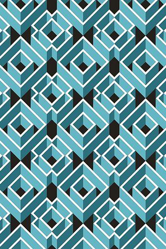tridimensional | pattern |