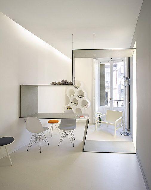 El refugio minimalista de S28 Arquitectura en Casa Decor Madrid 2011 | Interiores Minimalistas