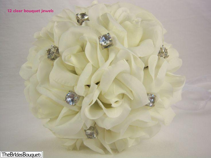 TheBridesBouquet.com - Ivory Silk Rose Toss Bouquet - 1 Dozen Silk Roses - Bridal Wedding Bouquet, $14.99 (http://www.thebridesbouquet.com/ivory-silk-rose-toss-bouquet-1-dozen-silk-roses-bridal-wedding-bouquet/)