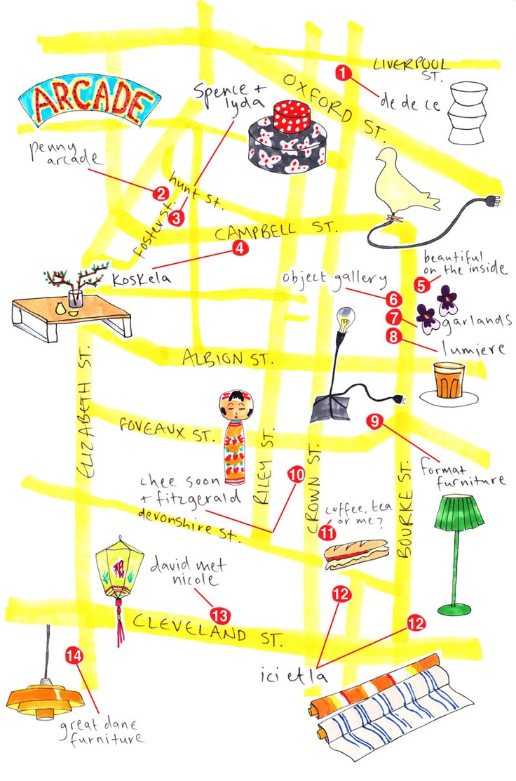 Surry Hills shopping guide.  #surryhills #sydneycommunity #shopping