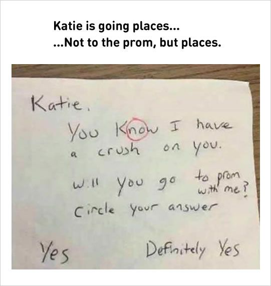 smart answer to boy