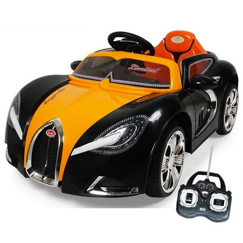 Bugatti Veyron Style Kids 12v Ride On Car With Remote