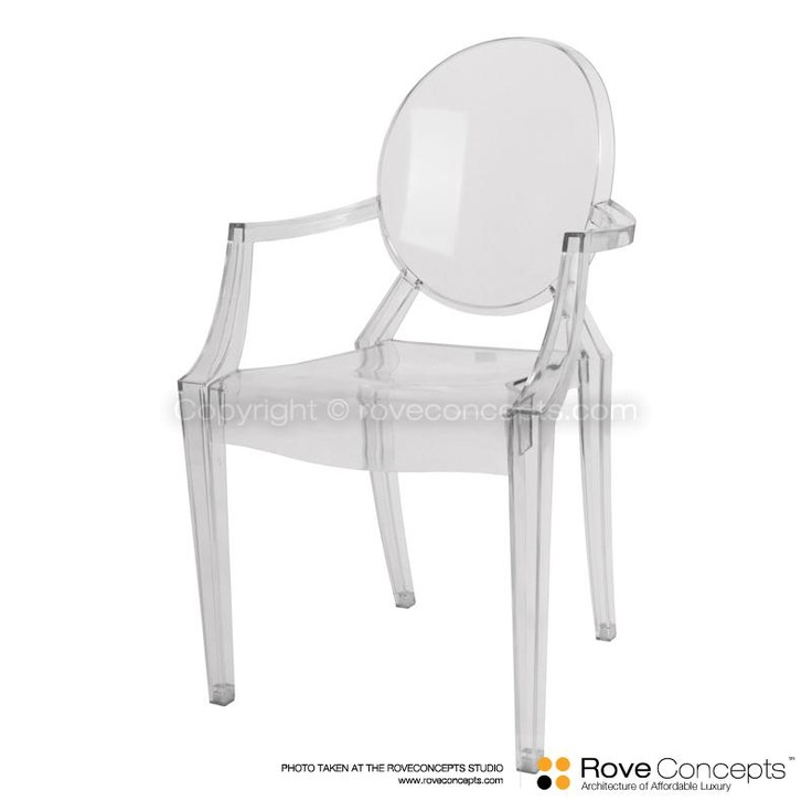 Ghost Armchair Louis   Rove Concepts