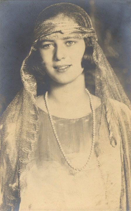 A very lovely photo of Princess Ileana of Romania (later Archduchess of Austria)