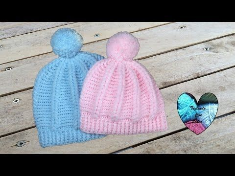 Gorro en relieve tejido a crochet con punto puff todas las tallas - YouTube