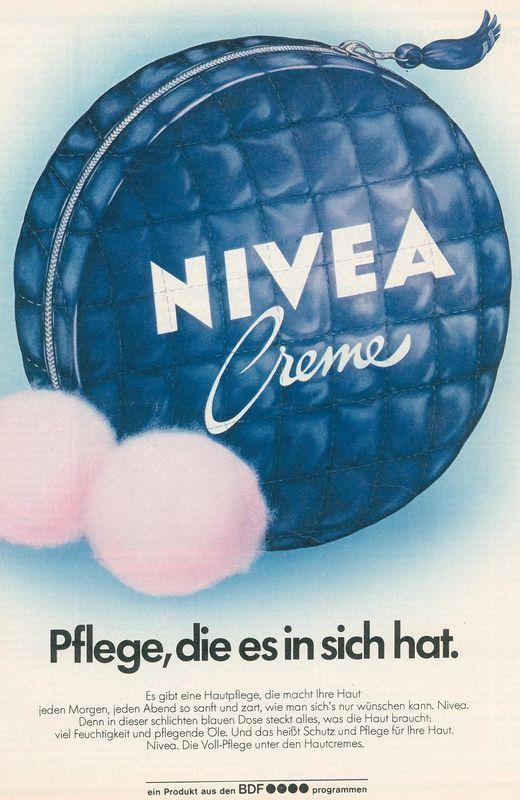NIVEA retro/vintage pub - art inspiration.