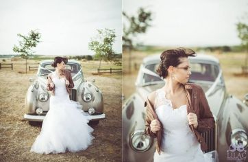 View Marizanne van der Merwe's special moments in her Ilse Roux wedding dress creation :: Ilse Roux Bridal Wear
