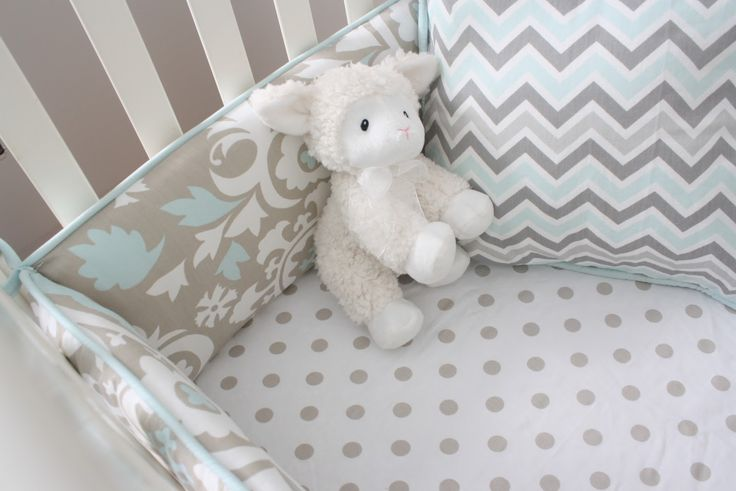 Studio Collection Fabrics / Blue and Taupe fabrics for nurseries and kids rooms
