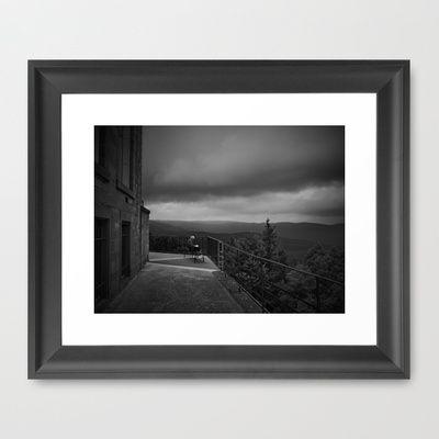 Before the Rain Framed Art Print by Rainer Steinke - $40.00