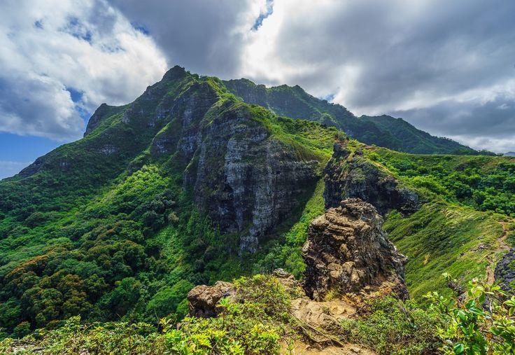 Pu'u Manamana, Oahu, Hi [2048x1410]