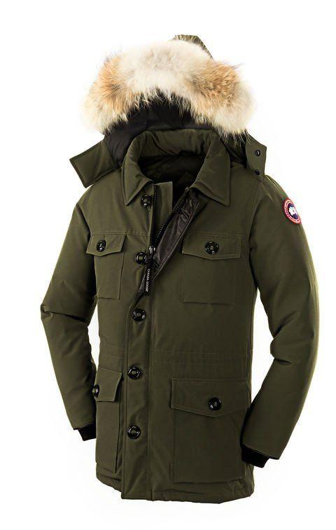 CANADA GOOSE BANFF PARKA, MILITARY GREEN – Herren – Canada Goose Online Shop : Parkas, Jacken, Mützen, Westen