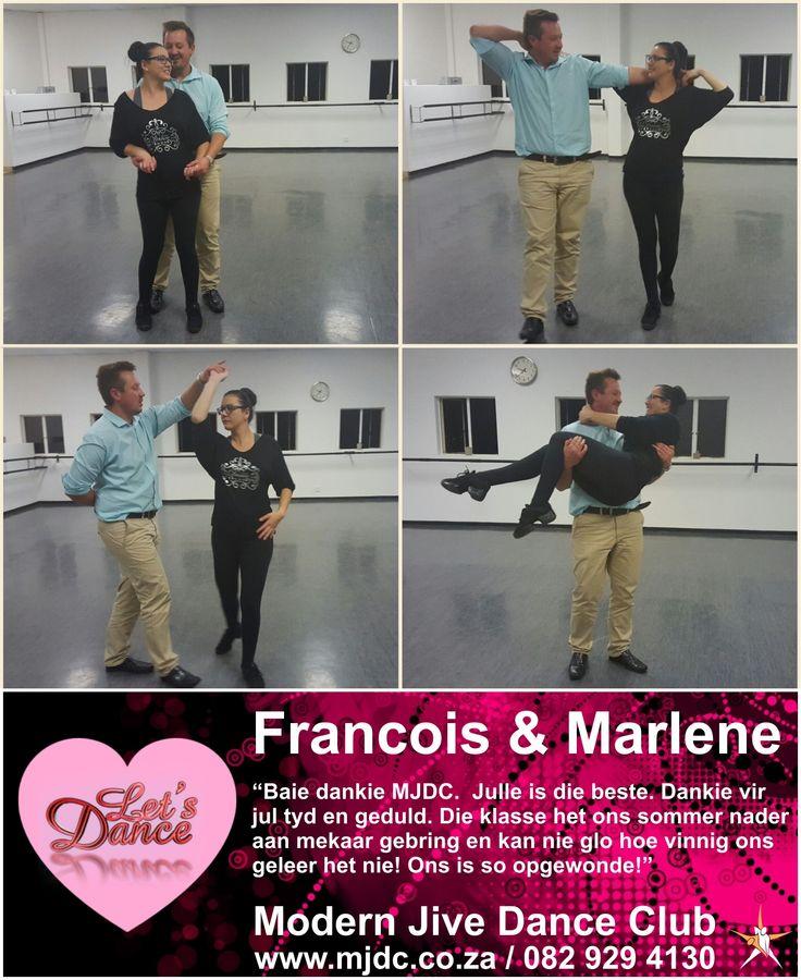 Congratulations Francois & Marlene! www.mjdc.co.za
