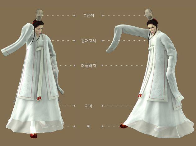 Goryeo Dynasty(AD918-1392) Korean traditional clothes #hanbok 무악기녀(舞樂伎女) 복식(2). - 문화콘텐츠닷컴