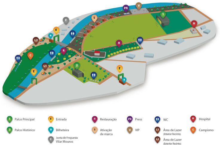 Sabe mais sobre todo o recinto do Festival Vilar de Mouros.   #recinto #festival #vilardemouros