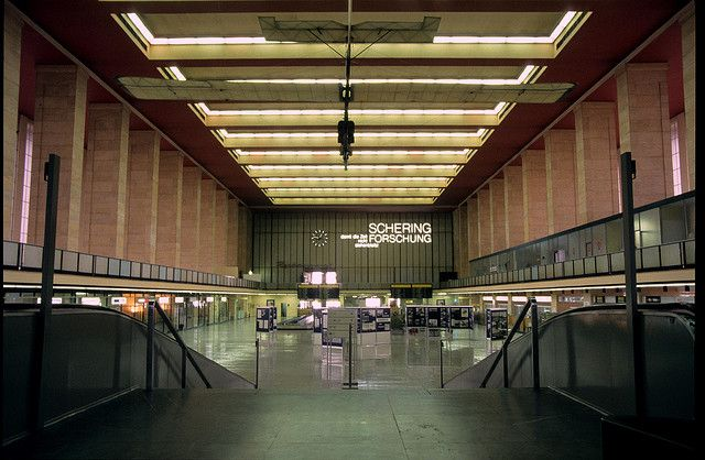 Berlin's Tempelhof Airport was once a main point of entry into Germany, but was closed in 2008 because of the plan to relocate all commercial air flights to the yet unopened bureaucratic boondoggle Berlin Brandenburg Airport.