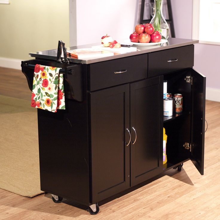 Kitchen Island Using Stock Cabinets: 1000+ Ideas About Rolling Kitchen Island On Pinterest