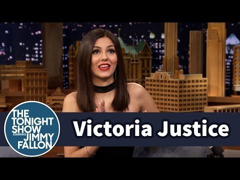 Victoria Justice Does Her Impression of The Rock - YouTube