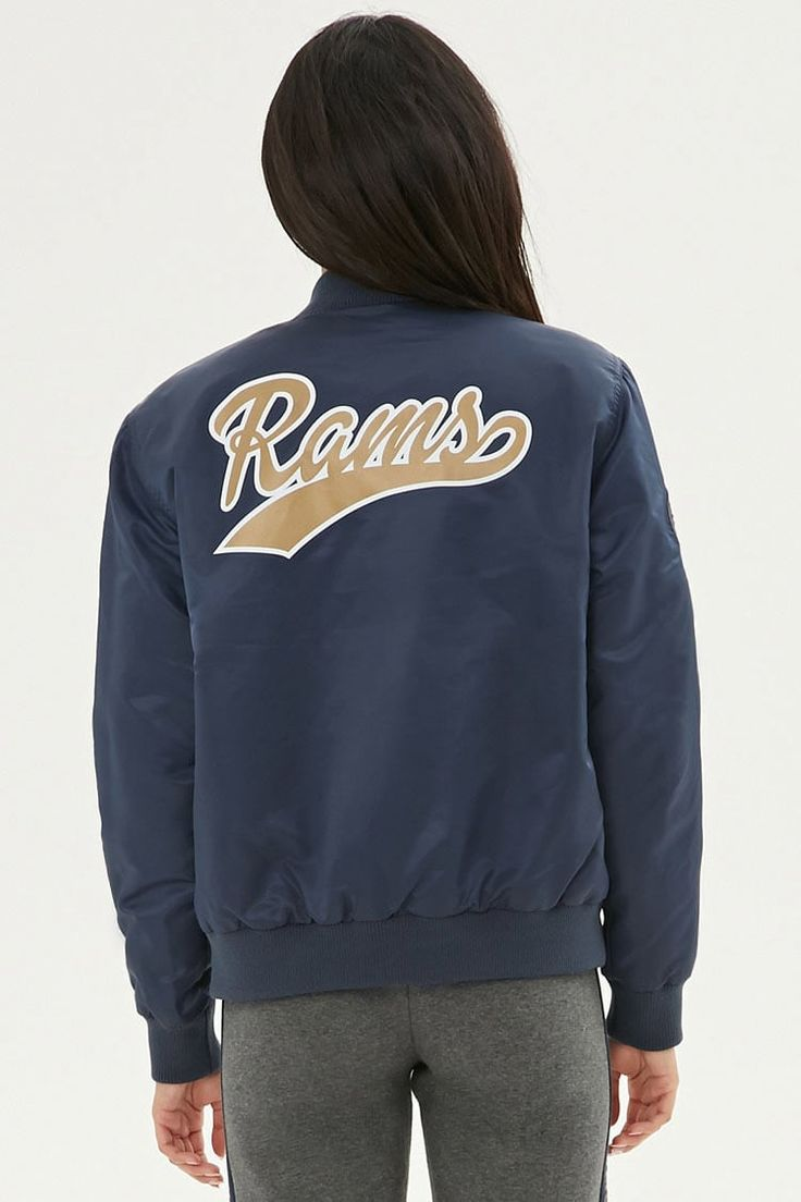 Product Name:NFL Rams Bomber Jacket, Category:CLEARANCE_ZERO, Price:15.96