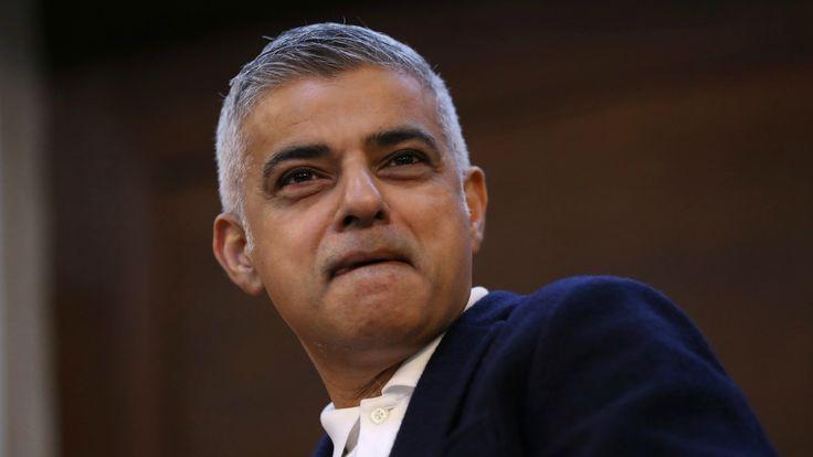 After Sadiq Khan said the U.S. president wasn't welcome in London.
