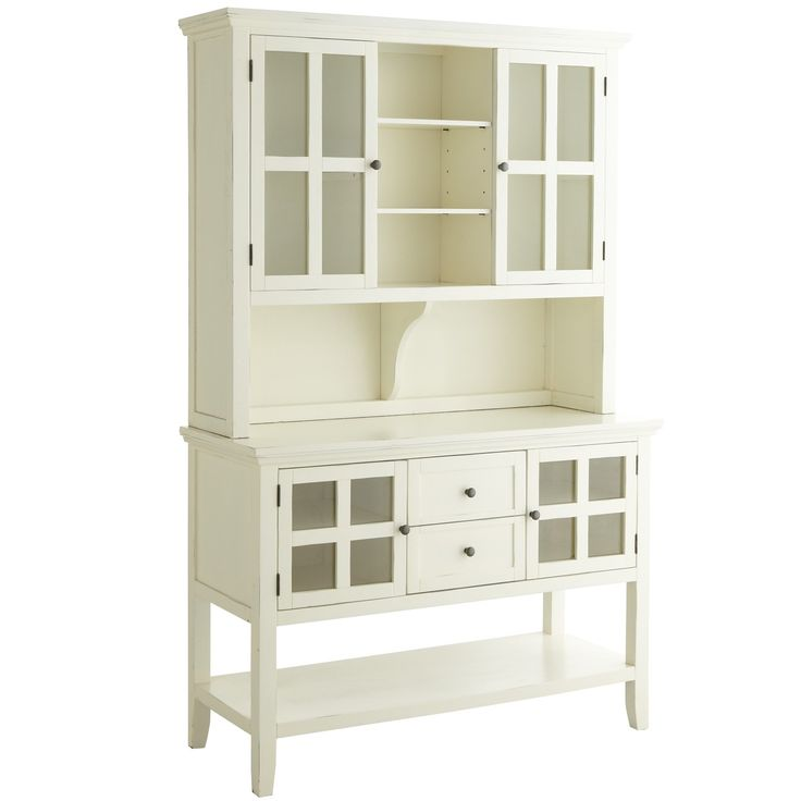 Sideboards White Dining Hutch Antique Kitchen Hutch Open Shelves Hutch