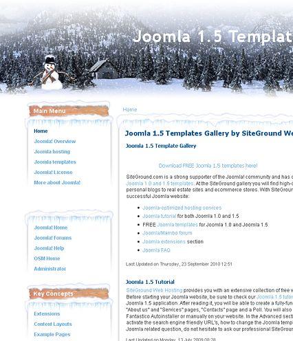 Joomla Templates Tutorial
