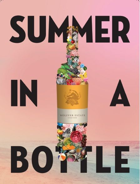 Summer in a Bottle Poster