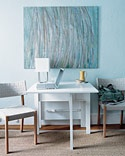 Save space in an efficiency apartment! Dinner table/work space. from that Martha person.